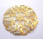 Brosche gold
